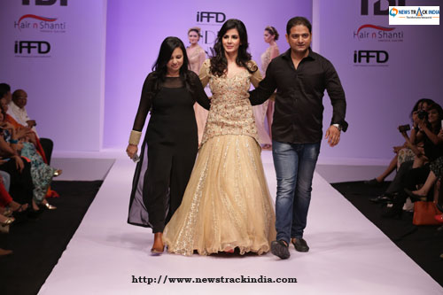 Kirti Kulhari in Collection by Liz Paul And Satya Mishra