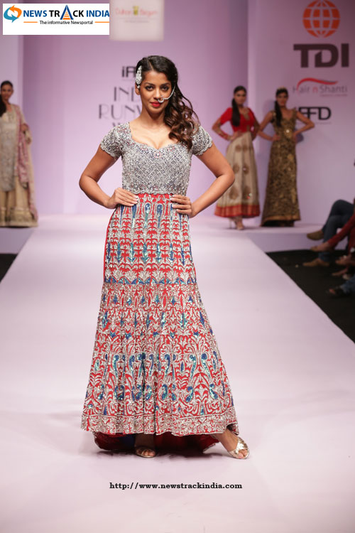 Mugdha Godse in Collection by Sandeep Singh And Pummy Bhatia Solo