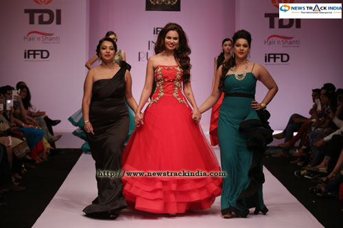 Sristi Rana in Collection by indulgence by Cheena And Shirin Singh
