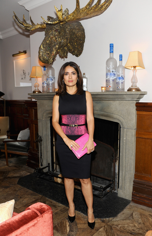 Actress Salma Hayek at the Kahlil Gibrans