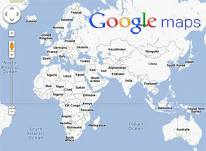 Google maps the most remote area in Canadas Arctic
