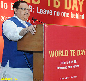 J P Nadda launches new initiatives to combat 'World TB Day'