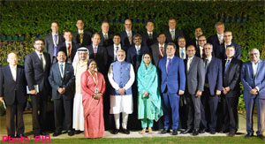 PM's interaction with global CEOs of the Food Processing sector