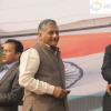 General VK Singh in Anna Hazare's Jantantra Rally