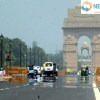 Temperature hits high in New Delhi