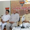 BJP Delhi president meets with MCD East Councilors