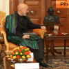 President of Afghanistan meets President of India