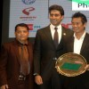 Abhishek Bachchan, Baichung Bhutia at The Indian Football Awards 2013