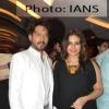 Huma Qureshi and Irrfan Khan attends first look launch of D-Day