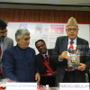 Dr. Farooq Abdullah at New Delhi World Book Fair 2014