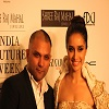 Gaurav Gupta and Shraddha Kapoor at Shree Raj Mahal Jewellers India Couture Week 2014