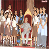 President with the Children, on the occasion of 'Raksha Bandhan'