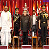 President of India at the convocation of Defence Services Staffs College