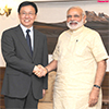 Member of the Political Bureau of Mr. Han Zheng calls on Prime Minister