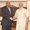 Prime Minister of Fiji calls on the Prime Minister Modi
