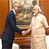 Microsoft CEO calling on the Prime Minister Modi