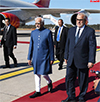 India Vice President with the Prime Minister of Morocco