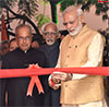 PM Modi inaugurating the new Rashtrapati Bhawan Museum