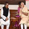 Home Minister of Bangladesh calls on the Prime Minister Modi