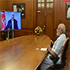 PM Modi and Mr. Mohammad Ashraf Ghani jointly Kabul through video-conferencing