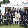 PM Modi with the participants of the Rio Paralympics-2016