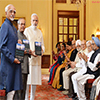 President of India releasing the book 'Citizen and Society'
