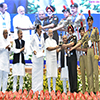PM Narendra Modi conferring the Swachhata Awards