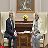 Chief Operating Officer The Art Institute of Chicago calls on the PM Modi