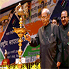 President of India lighting the lamp at the 7th National level function of the National Voters Day