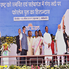 PM Modi at the function to inaugurate the various projects in Sahibganj